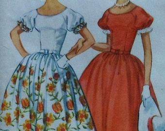 Vintage 60s Raglan Sleeve Dress Sewing Pattern McCalls 5731 Size 14