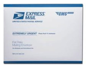 Overnight Rush My Order and Ship Overnight Mail U.S. Mail USPS