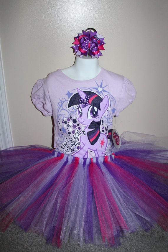 My little pony twilight sparkle tshirt hairbow and tutu combo for My little pony twilight sparkle shirt