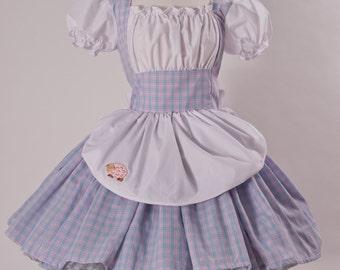 Little Bo Peep  Mary Had a Little Lamb Halloween Costume Fairytale Dress Storybook Dress Womens S M L Xl