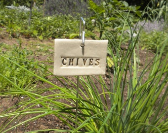 Chives Plant Marker