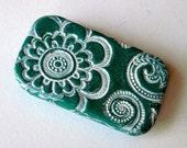 Pill Box Mediterranean Blue Floral