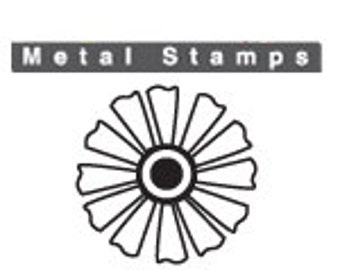 "DAFFODIL FLOWER Metal STAMP Design 6mm 1/4"" by ImpressArt Jewellery Steel Punch Metal Marking Craft Jewelry Making Tool Florals"