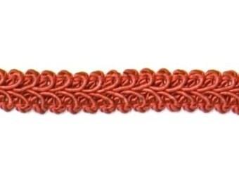 """E1901 Cranberry Gimp Sewing Upholstery Trim 1/2"""" (E1901-CB)"""