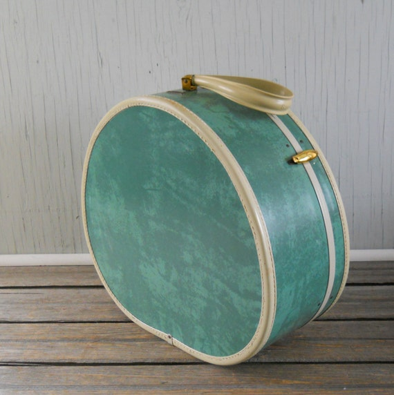 Round Vintage Suitcase | Luggage And Suitcases