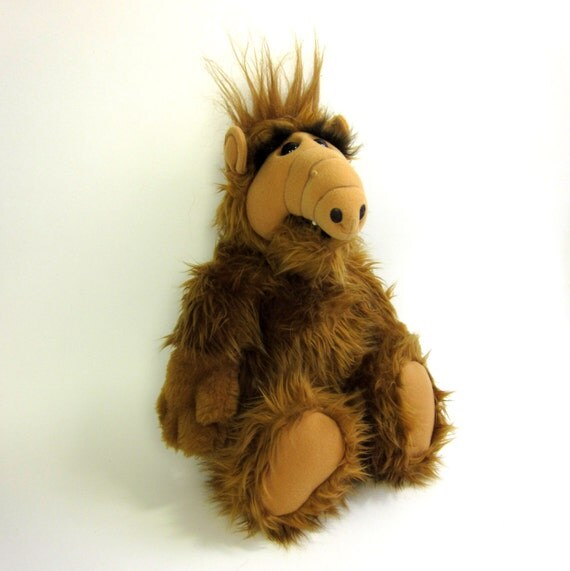 Alf Stuffed Toy 80s / Excellent Condition