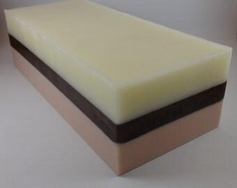 Creme Brulee Soap Loaf