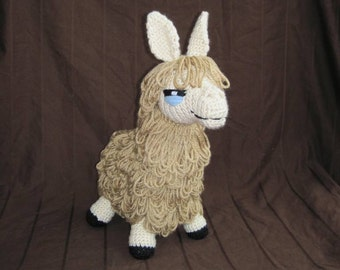 PDF Llama Crochet Pattern - Digital Download