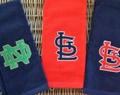 Monogrammed Golf Towels