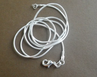 16 inch sterling silver snake chain