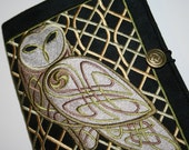 Celtic Owl Embroidered Cover
