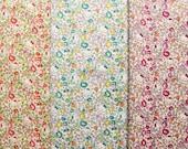 3 pcs of Liberty Hello kitty fabrics - Hello kitty orchard - 2013