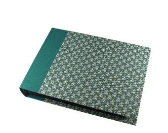 emerald green Wedding Album, Photo Album Olive leaves