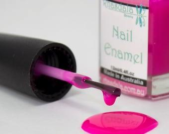 12ml Nail Polish - Jelly Bean - Hot Pink