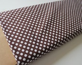 Cotton Dots Small by Riley Blake Designs, Cotton Dots Brown Fat Quarter, more yardage in stock