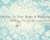 This listing is to add INSURANCE to go along with your order.  Our Hobby to Your Home & Wedding Etsy Shop.