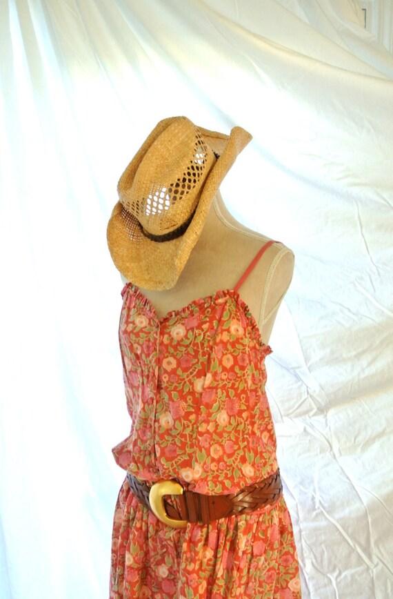 vintage dress boho dress summer by truerebelclothing