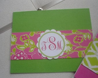 Lilly Pulitzer Inspired Set of Five