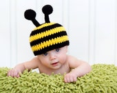 Baby Bumble Bee Hat - Spring Photo Prop