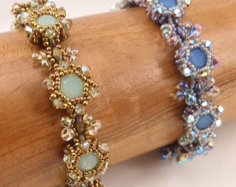 Beading Tutorial for Renaissance Bracelet and Earrings