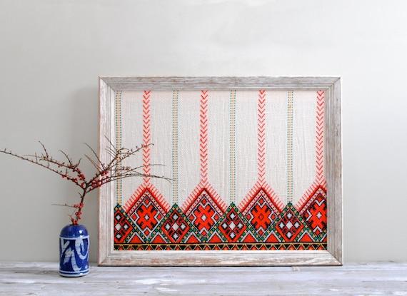 Framed Vintage Textile