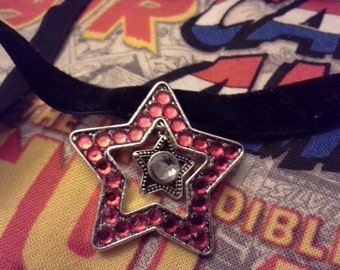 Captain America Inspired Star Necklace