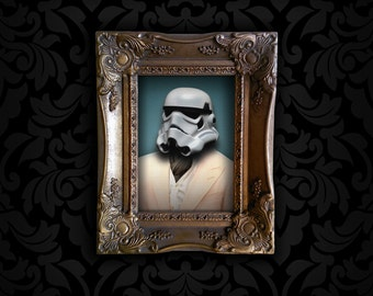 Star Wars Stormtrooper Portrait Print and Frame