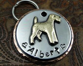 Terrier Custom Dog ID tag