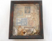 Travellers Gothic Curio Cabinet Framed Art Piece