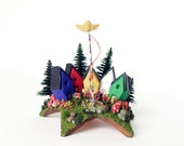May Pole Fairy Houses Upon a Star - The Circle of Spring May Day Celebration by Bewilder and Pine