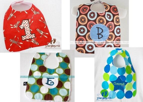 BIB - Choose Custom Colors and Custom Fabrics - Cake Smash 1st Birthday
