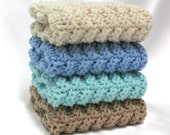 Knit Dishcloths Cotton Hand Knit Dishcloths Washcloths
