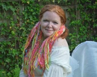 Fruit Stripe Fairy Neon Rainbow Hair Falls