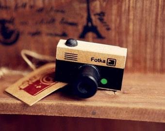 Anticca Fotka Mini Camera rubber stamp