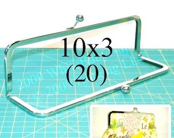20% OFF 20 Nickel-free 10x3 metal purse frame(TM) kisslock