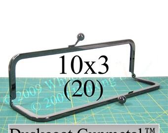 22% OFF 20 Duskcoat Gunmetal(TM) 10x3 purse frame