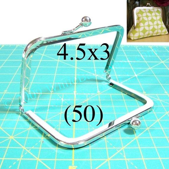 45% OFF 50 Nickel-free 4.5x3 purse frame