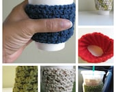 Custom Listing -- Coffee Cup Sleeve - Family Pack