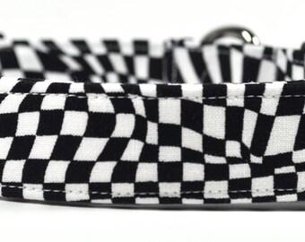 Formula One - Checkered Dog Collar