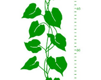 Jack & The Beanstalk Growth Chart Vinyl Wall Decal