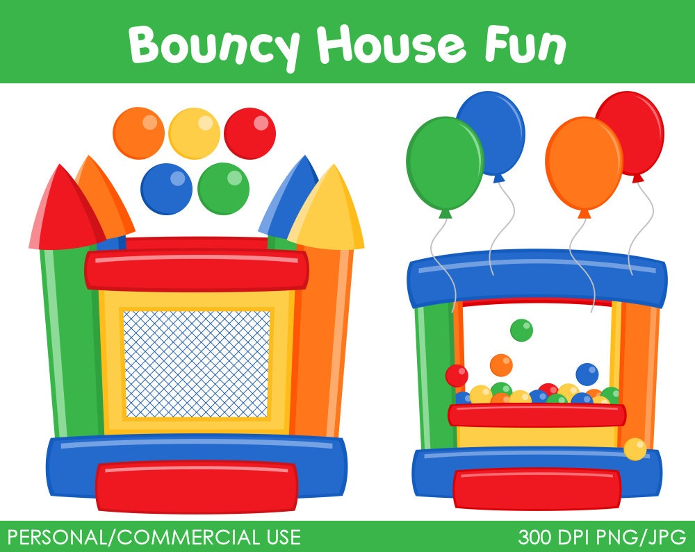 free bounce house clipart - photo #12