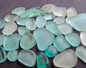 Sea Glass or Beach Glass of Hawaii's beaches  SKY BLUE SALE only 26 dollars in my Etsy shop SeaGlassFromHawaii