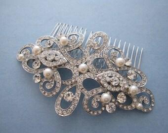wedding hair comb bridal hair jewelry wedding headpiece bridal hair comb wedding hair jewelry bridal headpiece wedding comb bridal hairpiece