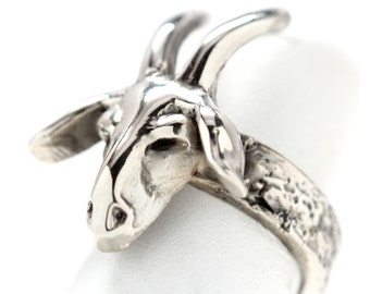 The Goat Ring  (Made in NYC)