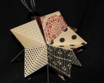 Delicate Folded Paper Ornament