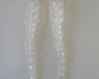 Vintage Icicle Holiday Earrings