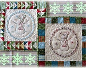 A Sweet Little Snowman PDF Quilt Block pattern From Quilt Doodle Designs
