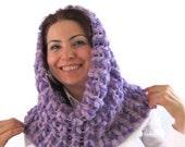 Neckwarmer - Crochet scarf , circle scarf , woman scarf gift crochet scarf , ring neckwarmer, crochet cozy,crocchet cowl