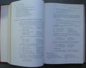 INTRODUCTORY RUSSIAN GRAMMAR, Columbia University 1964 Hardback  Book, Large Hardcover