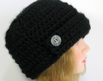 Crochet Knit Urban Hat A Warm Chunky Style